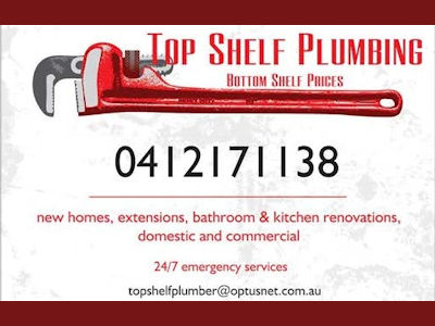 Top Shelf Plumbing: